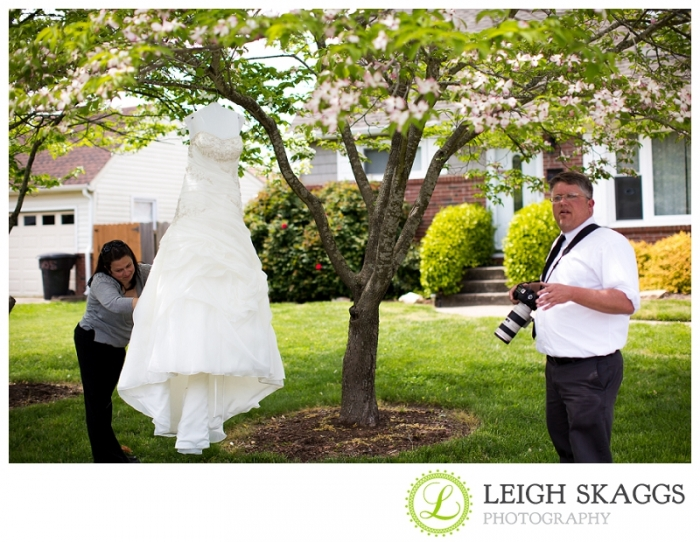 Virginia Beach Wedding Photographer ~Kimberly & Greg are Married~ Behind the Scenes