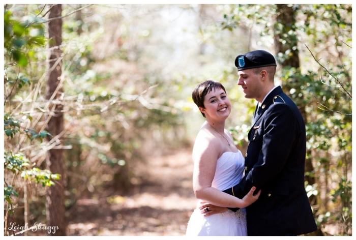 Erika and Dakotah are Married!!!  A sneak peek of their Harleys Haven Wedding in Windsor Virginia