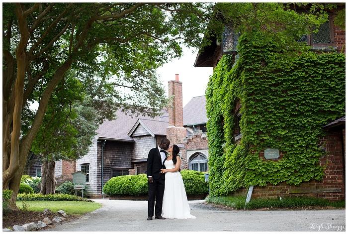 Alena & Luke are Married!!  A sneak peek from their Hermitage Museum & Garden Wedding!