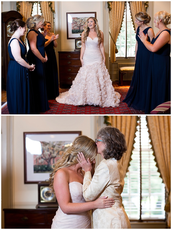 Erin and DJ are Married!!  A sneak peek from their William and Mary Alumni House Wedding in Williamsburg Virginia!