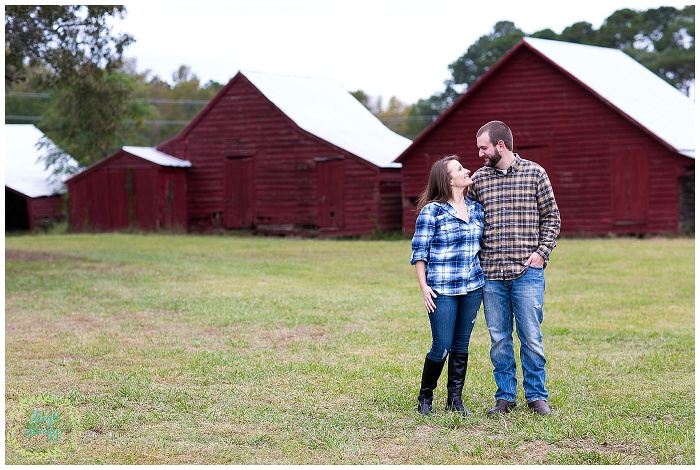 Christa and Andy are Engaged!!  A Flanagan Farm Engagement session in Pungo!