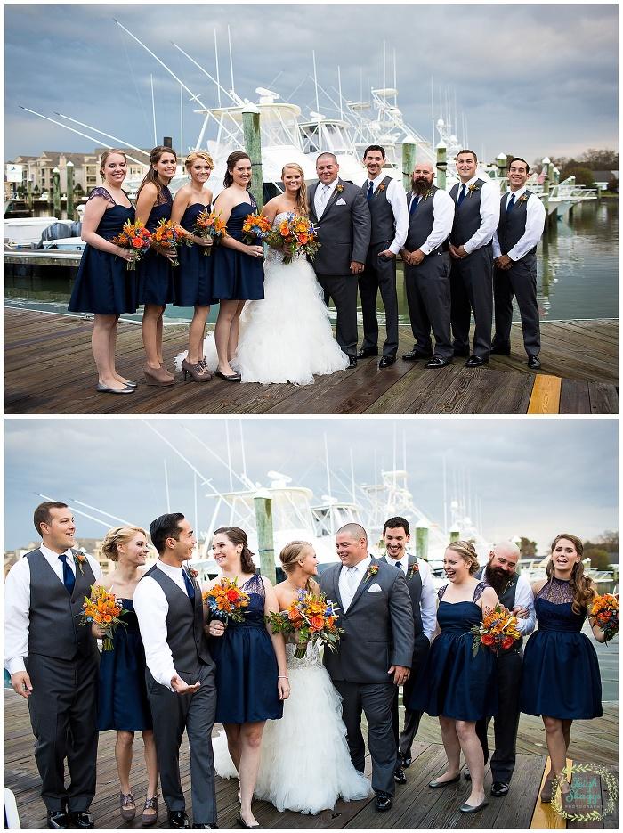 Marley & Dave are Married!  A sneak peek of their Water Table wedding in Virginia Beach!