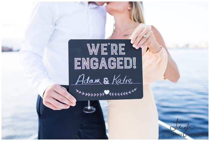 Katie & Adam   Fort Story & Nautical Engagement Session