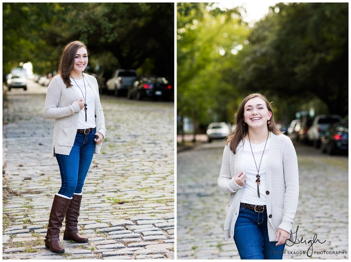 Alyssa is a Senior | Downtown Norfolk Senior session