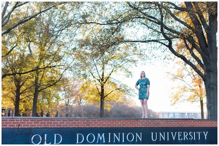 Ashleigh is Graduating! | ODU Senior Session