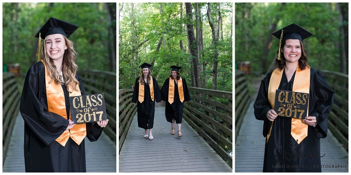 Emily & Jessie   First Landing Cap & Gown Session